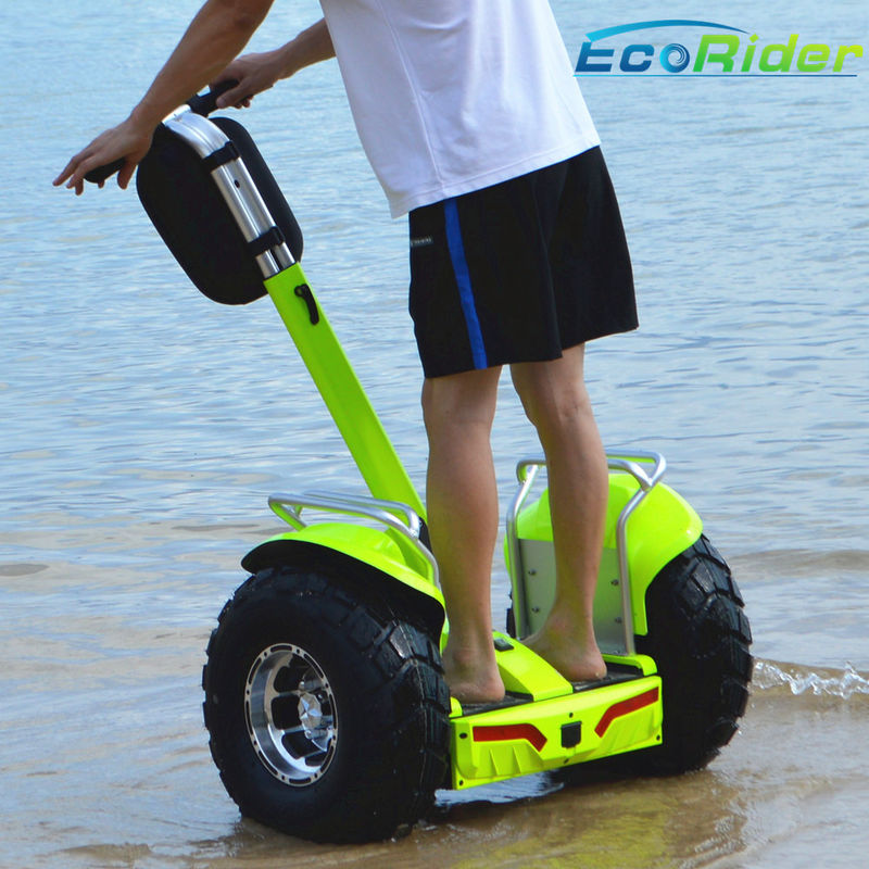 Waterproof 2 Wheel Electric Scooter Outdoor 110mm Height CE Approval