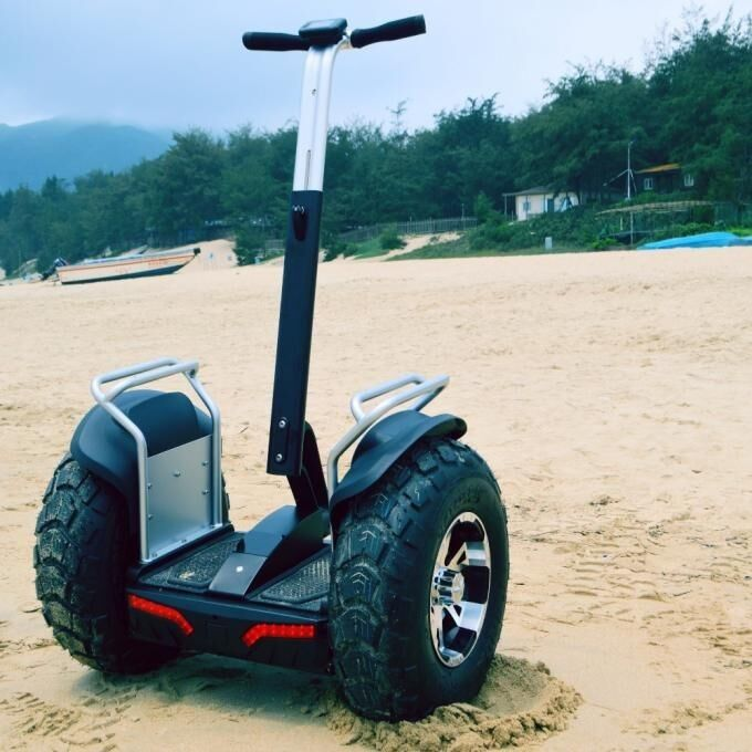Outdoor 2 Wheel Self Balancing Scooter / Two Wheeled Electric Scooter With App Controlled