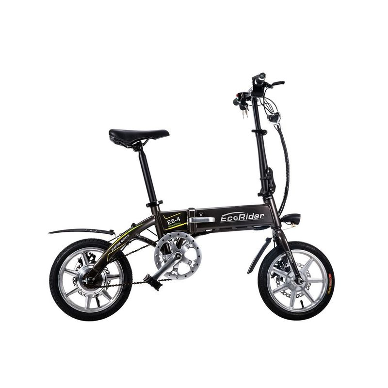 Light 36V 7.8ah Lithium Battery 14 Inch 2 Wheel Electric Bike14 inch Foldable Electric Scooter