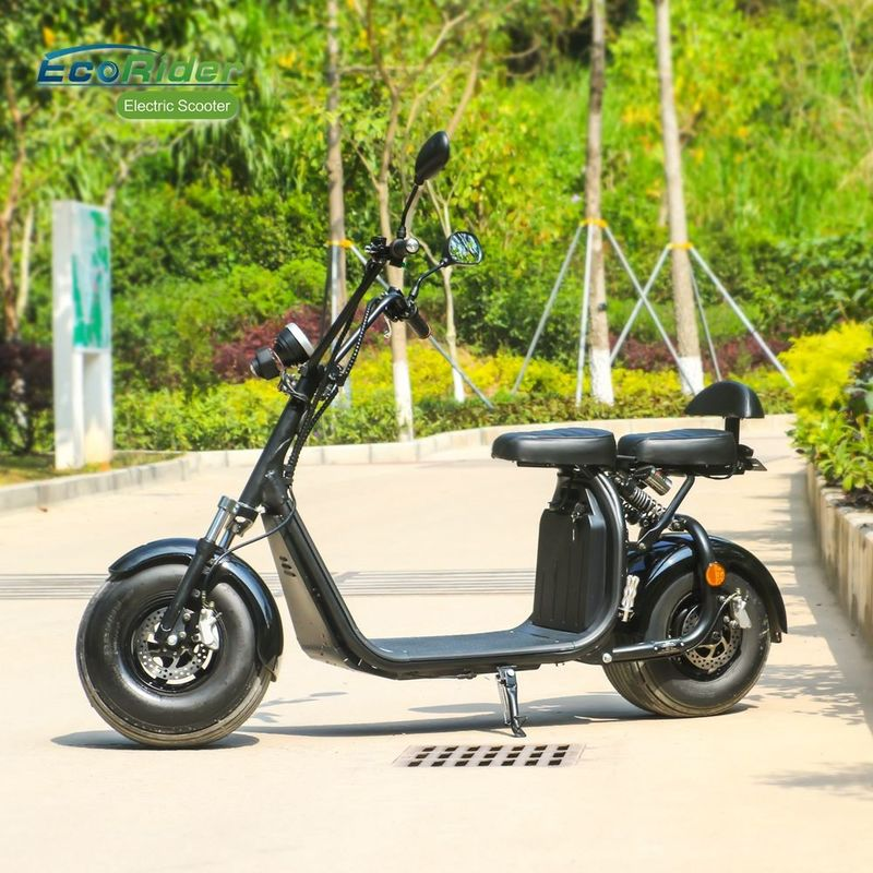 Eec Max Speed 25km / H 2 Wheel Electric Scooter With Emark Light And Mirrors