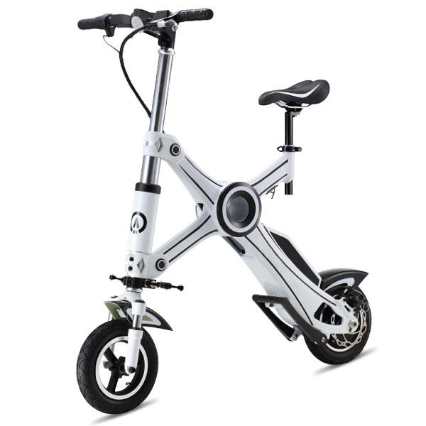 Eco Rider E6-1 Light Weight Foldable Electric Scooter , Electric Folding Bike